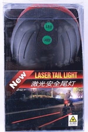 Laser Tail Light - Accessories Sepeda