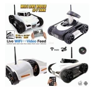 RC Tank WIFI I-Spy 2.4G 4CH with Camera