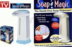 Dispenser sabun dengan sensor infra red