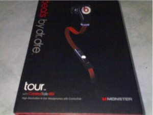 Headset Monster beats by dr.dre Tour CT OEM