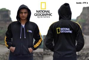 JAKET NATIONAL GEOGRAPHIC (MODEL ADIDAS)