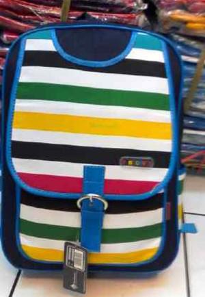 Tas Ransel / Backpack Wanita Remaja Bahan Denim 004