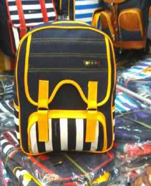 Tas Ransel / Backpack Wanita Remaja Bahan Denim 001