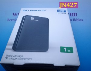 harga Hardisk Eksternal 1TB WD Elements USB 3.0 Warna Hitam - JN427 Tokopedia.com