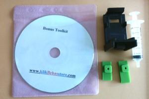 Toolkit Alat Penyedot CartridgetTinggi ( refill kit, alat service )