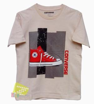 Shirt Converse Shoes_Krem