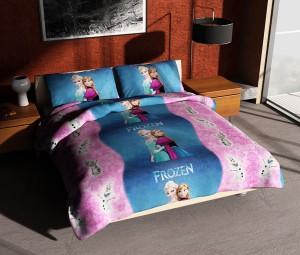 Sprei FELIS FROZEN Princess QUEEN Size 160×200