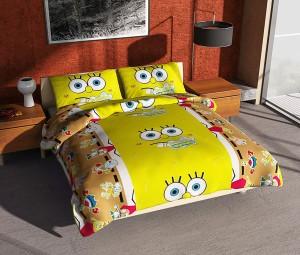 Grosir Sprei Murah 120×200 SpongeBob Merk Felis