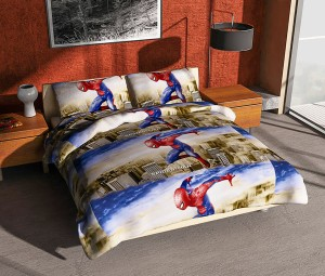 Grosir Sprei Single 100×200 Super Hero Spiderman Merk Felis
