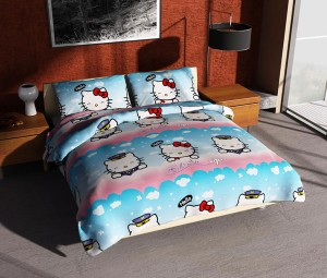 Sprei 120×200 Hello Kitty Air Merk Felis