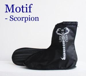 harga Jas Hujan Sepatu Motif Scorpion Tokopedia.com