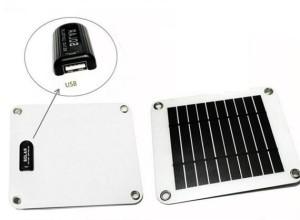 harga Solar charger pack SLIM 5w cocok untuk Power bank,HP, GPS, Camera, PSP Tokopedia.com