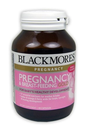 Blackmores Pregnancy & Breast-Feeding Gold 60caps