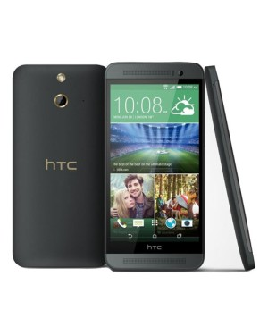 HTC ONE E8 DUAL SIM Dark Grey Garansi Resmi