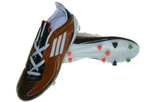 Sepatu Bola Adidas F50 Bola KWS Coklat, ( Futsal,Nike,Puma,Specs )