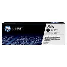 hp Black Laserjet Toner Cartridge CE278 (78A)
