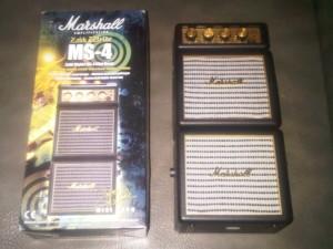 harga Amply/ ampli mini Marshall MS4/ MS 4 artist series (Original) Tokopedia.com