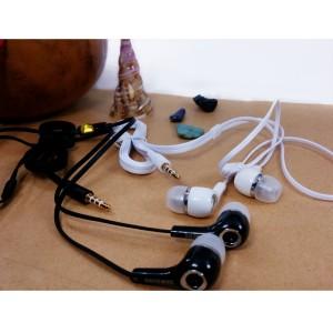 Earphone Handsfree Asus Lenovo Oppo Samsung Iphone Headset Handphone