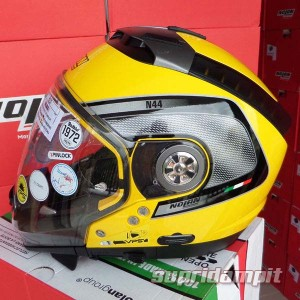 Helm Nolan N44 Tech yellow, helm multy model not AGV, HJC, Shoei, Arai
