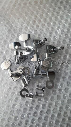 harga Dryer puteran gitar machine heads tuning peg die cast chrome murah Tokopedia.com