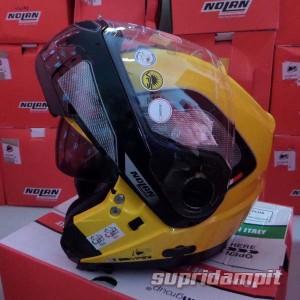 Helm Nolan N104 Evo Tech Cab yellow , helm modular touring not AGV