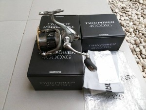 REEL SHIMANO TWINPOWER 4000XG - MODEL 2015