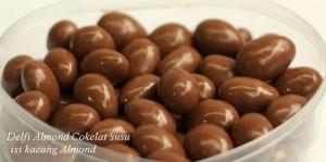 harga Delfi Almond Cokelat susu isi kacang Almond Tokopedia.com