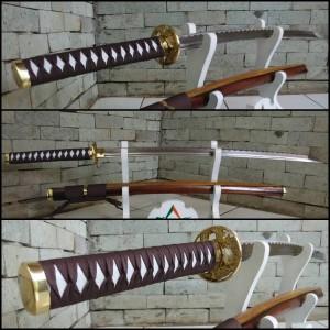 harga Katana Gold Dragon / Pedang Samurai / Senjata / Koleksi Benda Tajam Tokopedia.com