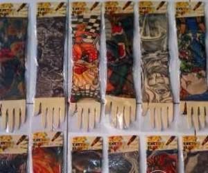harga manset tattoo / tattoo sleeve / pasang Tokopedia.com