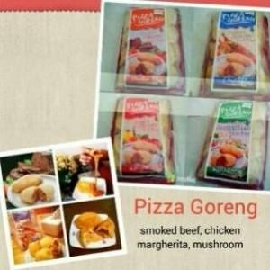 Pizza Goreng - Margherita/Mushroom/Chicken
