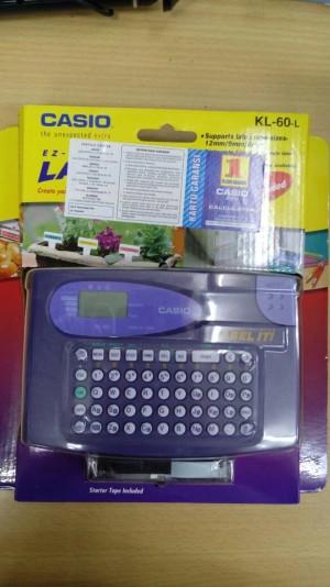 harga Casio EZ- LABEL PRINTER KL-60-L Tokopedia.com