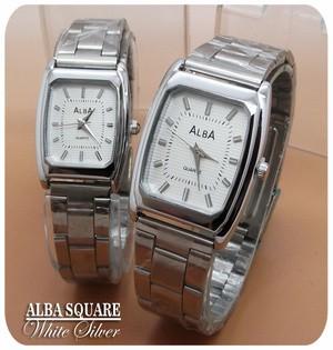 Jam Tangan Alba Model Kotak Elegan