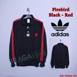 harga Jaket Adidas Firebirds Black - Red, Jaket Casuals Tokopedia.com