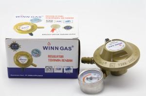Regulator Winn Gas W - 118 M Untuk Tabung LPG 3 & 12 KG ,BAGUS & AMAN