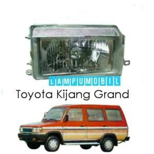 harga Lampu Depan Set Toyota Kijang Grand Model Kristal Merk Depo Tokopedia.com