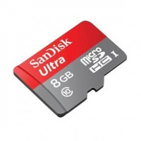 SanDisk Ultra microSDHC Card UHS-I Class 10 (48MB/s) 8GB dgn SD Card