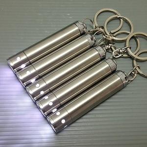 Senter Mini Aluminium CahayaTerang utk batu permata cincin akik dokter