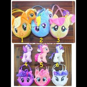 harga My Little Pony Bag n Doll set tas anak kuda poni dan boneka kado lucu Tokopedia.com