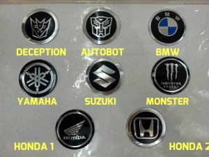 emblem logo velg transformers BMW monster energy suzuki yamaha honda