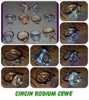 harga RING CINCIN RODHIUM WANITA Tokopedia.com