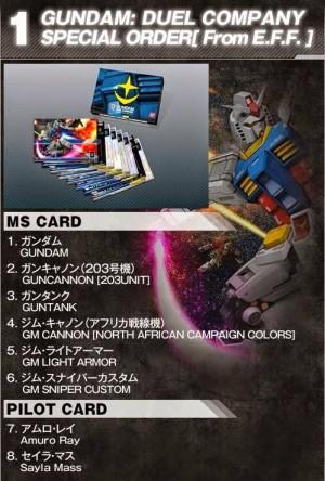 harga GDC Gundam Duel Company Starter Pack Ver 00 Seri EFSF Tokopedia.com