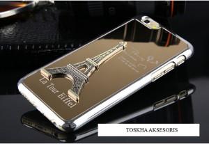 harga Hard Case iPhone 6 (4.7inch) Emblem 3D Menara Eiffel Glossy Emas Tokopedia.com