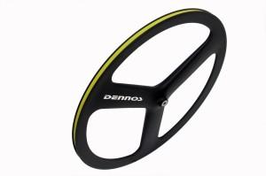 harga Dennos Fixie Fixed gear Wheel 3 spokes Front Tokopedia.com
