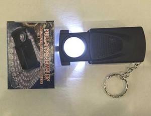 kaca pembesar loupe batu cincin MG21008-A / manifier with led light
