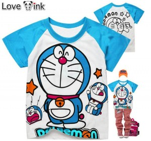 Kaos Atasan Anak Doraemon Star