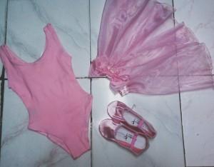 baju | balet | pink