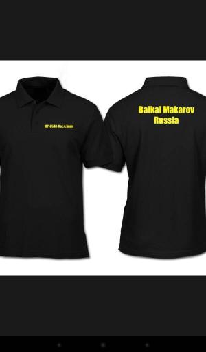 polo shirt BAIKAL MAKAROV RUSIA