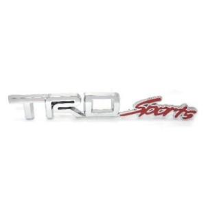 Emblem Tempel TRD Sport Chrome Merah
