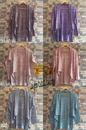 harga Layer Knitted Cardigan - Rajut Halus Korea Tokopedia.com
