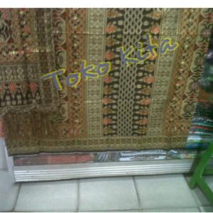 harga Songket batik motif tarutung - coklat Tokopedia.com